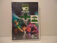 Ben 10: Destroy All Aliens DVD Cartoon Network 2012 2 hours of special features