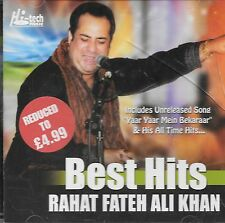 RAHAT FATEH ALI KHAN BEST HITS - BRAND NEW SOUND TRACK CD - FREE UK POST