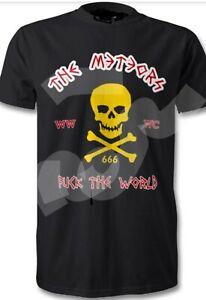The Meteors Psychobilly t shirt   Rockabilly king kurt No Backprint Punk