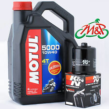 SL 1000 Falco 2000 K&N Filter and Motul 5000 Oil Kit