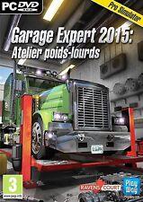 Garage Expert 2015 : atelier poids lourds PC NEUF Version Française Envoi SUIVI