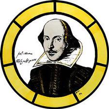 VETRATA ART-statico Cling Decorazione-William Shakespeare