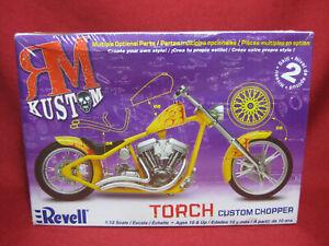 TORCH Custom Chopper RM Kustom Motorbike Revell Monogram 1:12 Model Kit 7316