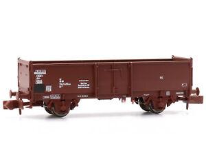 MU N-G52014 - Offener Güterwagen Rübentransport Omm 52 DB Epoche IV - Spur N