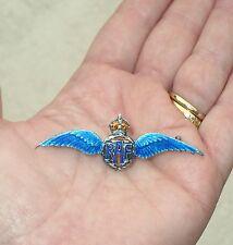 VINTAGE RAF ROYAL AIR FORCE STERLING SILVER PILOT WINGS PIN