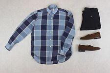 Our Legacy - Linen Shirt - Blue Check - 48/Medium