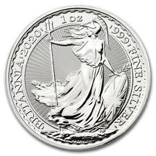 2020 1oz Silver Britannia 1 ounce silver bullion coin in capsule Offer 2