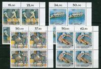 Bund 1592 - 1595 ** Eckrand VB Viererblock postfrisch Ecke 2 Sporthilfe MNH