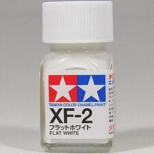 TAMIYA COLOR ENAMEL XF-02 XF-2 Flat White MODEL KIT PAINT 10ml NEW