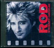 Rod Stewart - Camouflage CD West Germany Target
