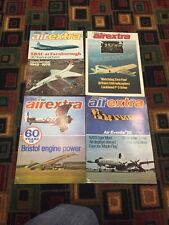 4 Interesting 1970S/80S Airextra Magazines
