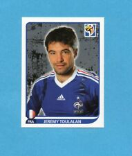 SOUTH/SUD AFRICA 2010-PANINI-Figurina n.96- TOULALAN -FRANCIA-NEW BLACK BACK