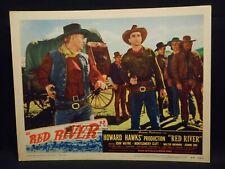 John Wayne Red River Lobby Card #8 fine Montgomery Clift Western Howard Hawks