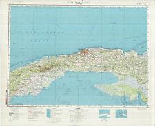 Russian Soviet Military Topographic Maps - LA HABANA (Cuba),1:500 000, ed.1983