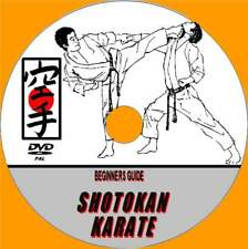 SHOTOKAN KARATE TRAINING VIDEO DVD A STEP BY STEP TECHNIQUES GUIDE BY EXPERTS