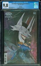 CGC 9.8 Dark Nights Death Metal Speed Metal 1 Peach Momoko Variant