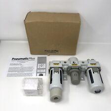 """PneumaticPlus SAU400A-N04G - Dual Air System 1/2"""" NPT - Air Filter"""
