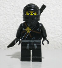 Cole 2112 2516 Black Ninja The Golden Weapons Ninjago LEGO Minifigure Figure