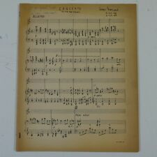 GEORGE MAYNARD concerto  for flute and strings , SIGNED