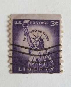 US STAMPS, Old Liberty 3 Cent Purple, 11 Cent Red And 15 Cent Airmail.