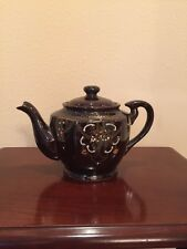 Teapot Ceramic Vintage Tea Kettle, Brown