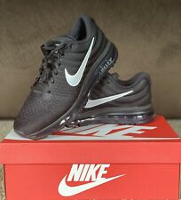 Nike Air Max 2017 Black-Anthracite White 849559-001 Men's Running Shoes