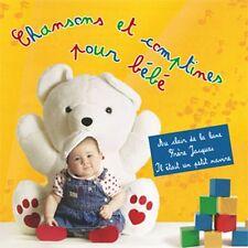 CD Chansons et comptines pour bébé / French IMPORT