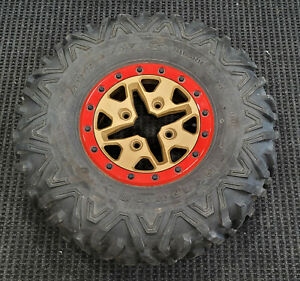 Can Am Maverick X3 XRS Max FRONT / REAR Wheel and Tire Big Horn 2.0 (30x10r14)