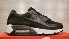 Nike Air Max 90 Black White Grey Fashion DH4095 001 Men's 7 / Women's 8.5