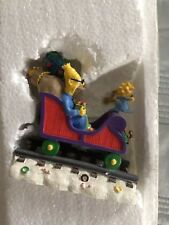 "Simpsons Hamilton Christmas Express Train ""All Aboard For The Holidays"" With COA"