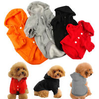 Cute Pet Puppy Dog Cat Hoodies Coat Jacket Winter Warmer Sweater Apparel Costume