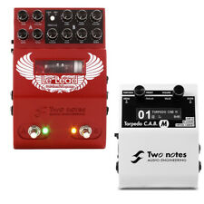 Two Notes Audio Engineering LeLead Preamp Guitar Effects Pedal w/ CABM Bundle