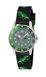 Tikkers Children's Dinosaur theme Rotating Disc Time Teacher Watch-NTK022