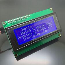 LCD2004 Backlit Display+IIC I2C Serail Interface Module for Arduino Raspberry Pi