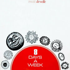 JACKY GIORDANO 8 DAYS A WEEK DE WOLFE LIBRARY LP 1977 BOSSA SYNTH FUNK LISTEN