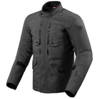 Rev'it Trench Laminated Gore-Tex Textile Motorcycle Jacket - Black