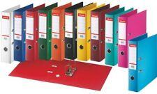 10x Esselte Plastik-Ordner Standard DIN A4 50mm sortiert Ringordner Sammelordner