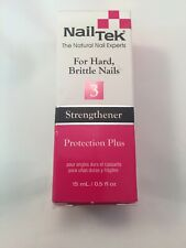 Nail Tek Strengthener 3 Protection Plus  .5oz. ~COMBINED SHIPPING~
