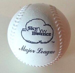 12 Sky Rubber Balls Rubber Sponge baseball With Major League stamp