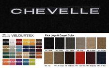 Lloyd Mats Chevrolet Chevelle Custom Velourtex Front Floor Mats (1964-1967)