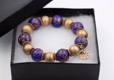 Edna Haak 18kt Rose Gold & Sterling Silver Bracelet EH1103BB - retail $250.00