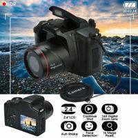 Digital HD SLR Camera 2.4 Inch TFT LCD Screen 1080P 16X Zoom Anti-shake LZ
