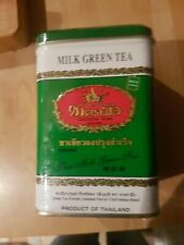 Thai Green Tea Mix Cha Tra Mue Brand 200g  50x4g Bags Matcha