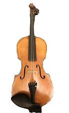 Infinite Strings Bench Copy Of 1695 Guarneri Violin + Bow + Case Made In Czech R
