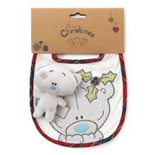 Me To You Christmas Baby Bib & Tiny Tatty Teddy Gift Set