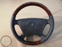 Mercedes Benz Wood Steering Wheel w124 w140 w202 w208 w210 W462 G class WALNUT