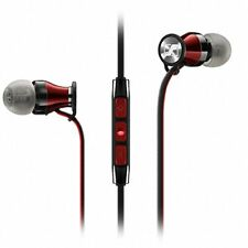 OEM Sennheiser Momentum 2.0 In-Ear Headphone Mic Remote iPhone Black/Red F/S E