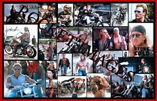 Stone Cold 1991 The Boz Custom Movie Poster 11x17 Buy any 2 Posters Get 3rd FREE