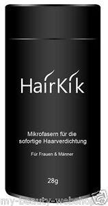 HairKik 28g - Schütthaar Microhairs Haarverdichtung für dünnes Haar 100g=56,96€
