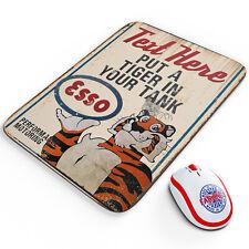 Personalised Esso Tiger Mouse Mat Petrol Garage Car Motor Mechanic Retro OC21